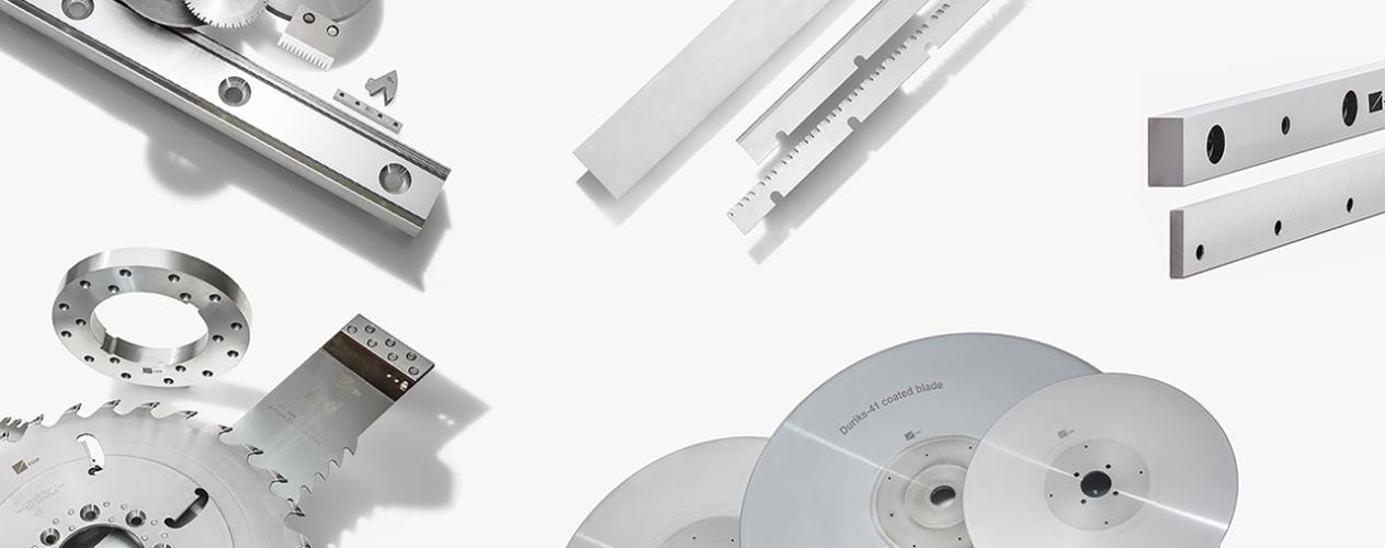 cuchillas para la industria del papel