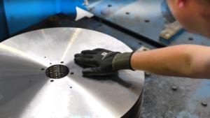 reducción de la fricción entre cuchilla y producto